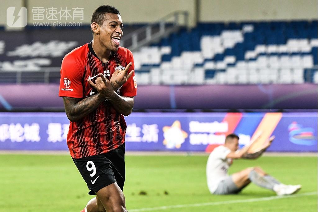 上海上港4-0河北华夏幸福