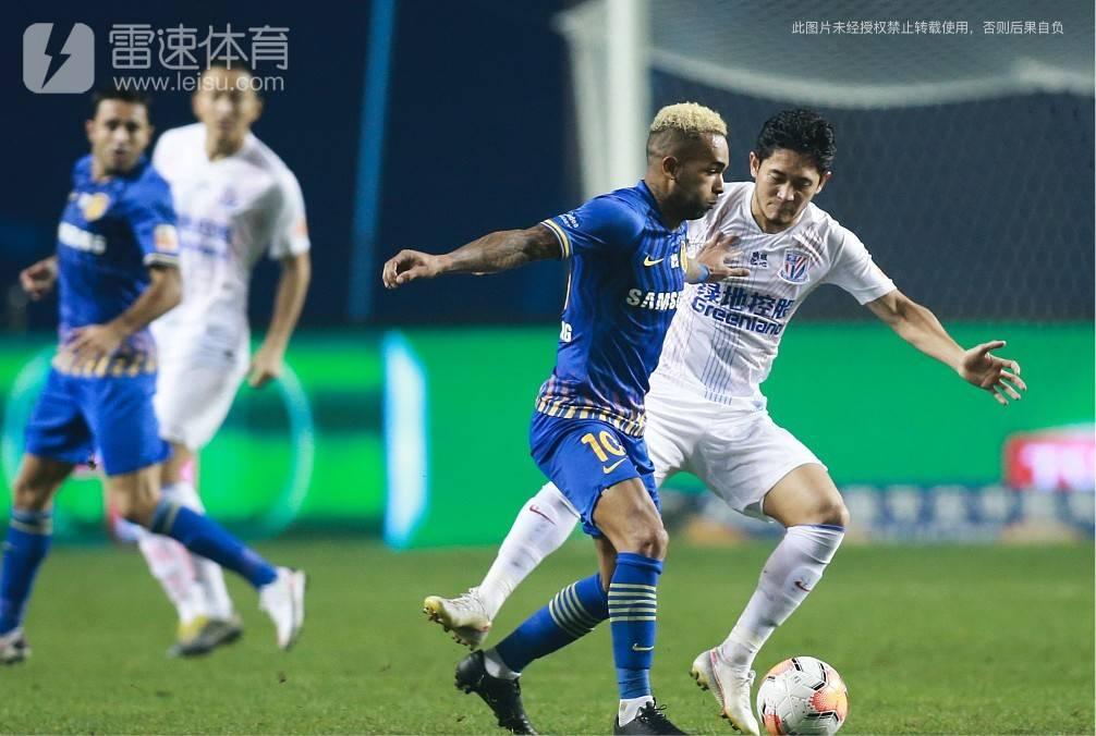 上海申花1-0江苏苏宁