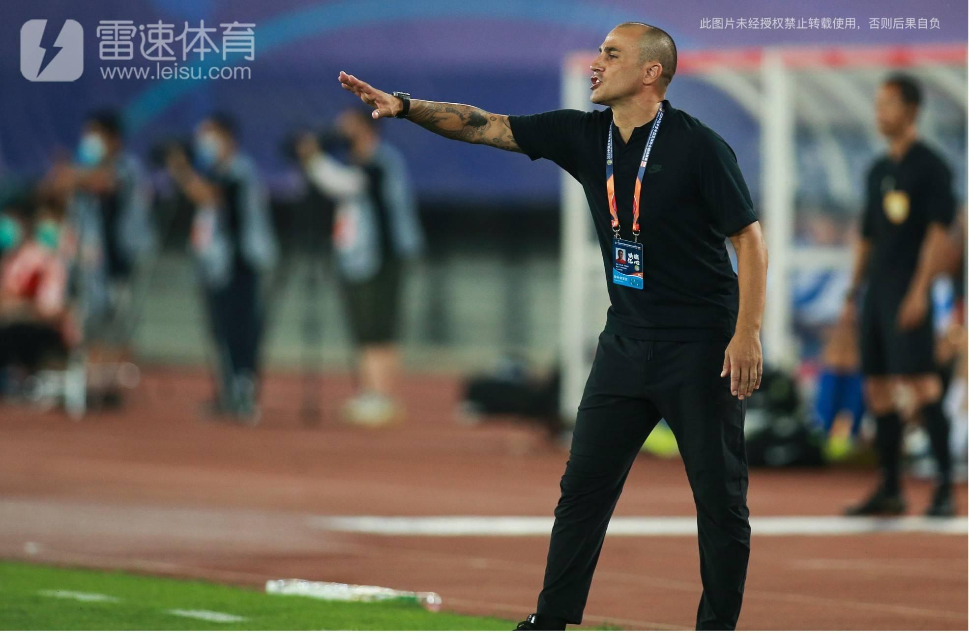 广州恒大主教练卡纳瓦罗
