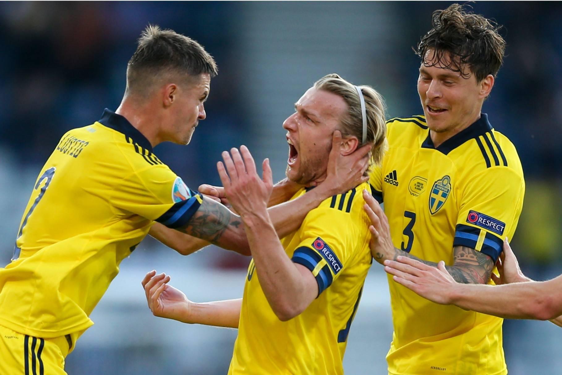 90分钟1-1!瑞典与乌克兰进入加时赛