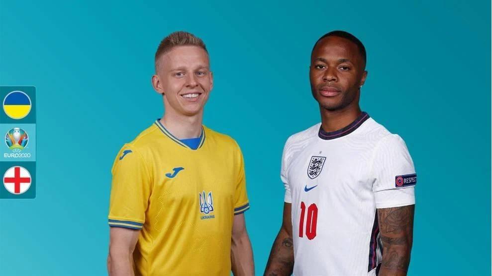 欧洲杯前瞻乌克兰VS英格兰