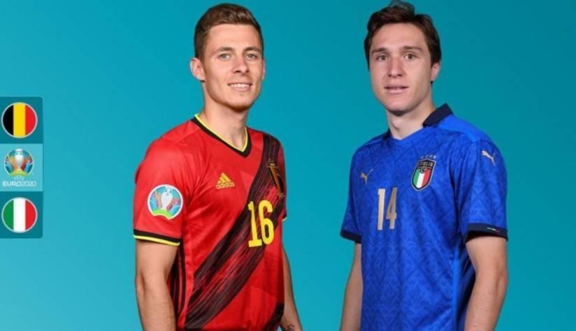 比利时vs意大利首发因莫比莱、德布劳内领衔,阿扎尔缺阵
