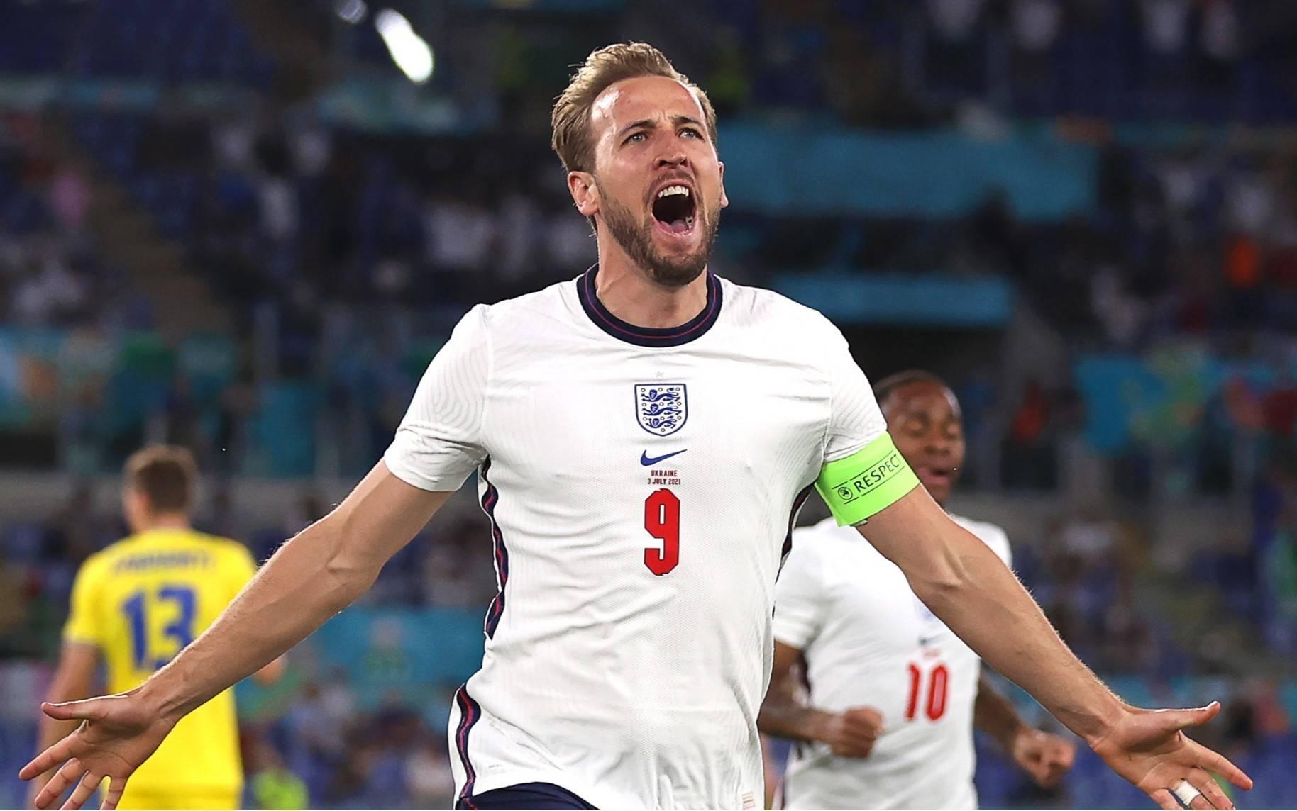 欧足联凯恩当选英格兰VS乌克兰全场最佳