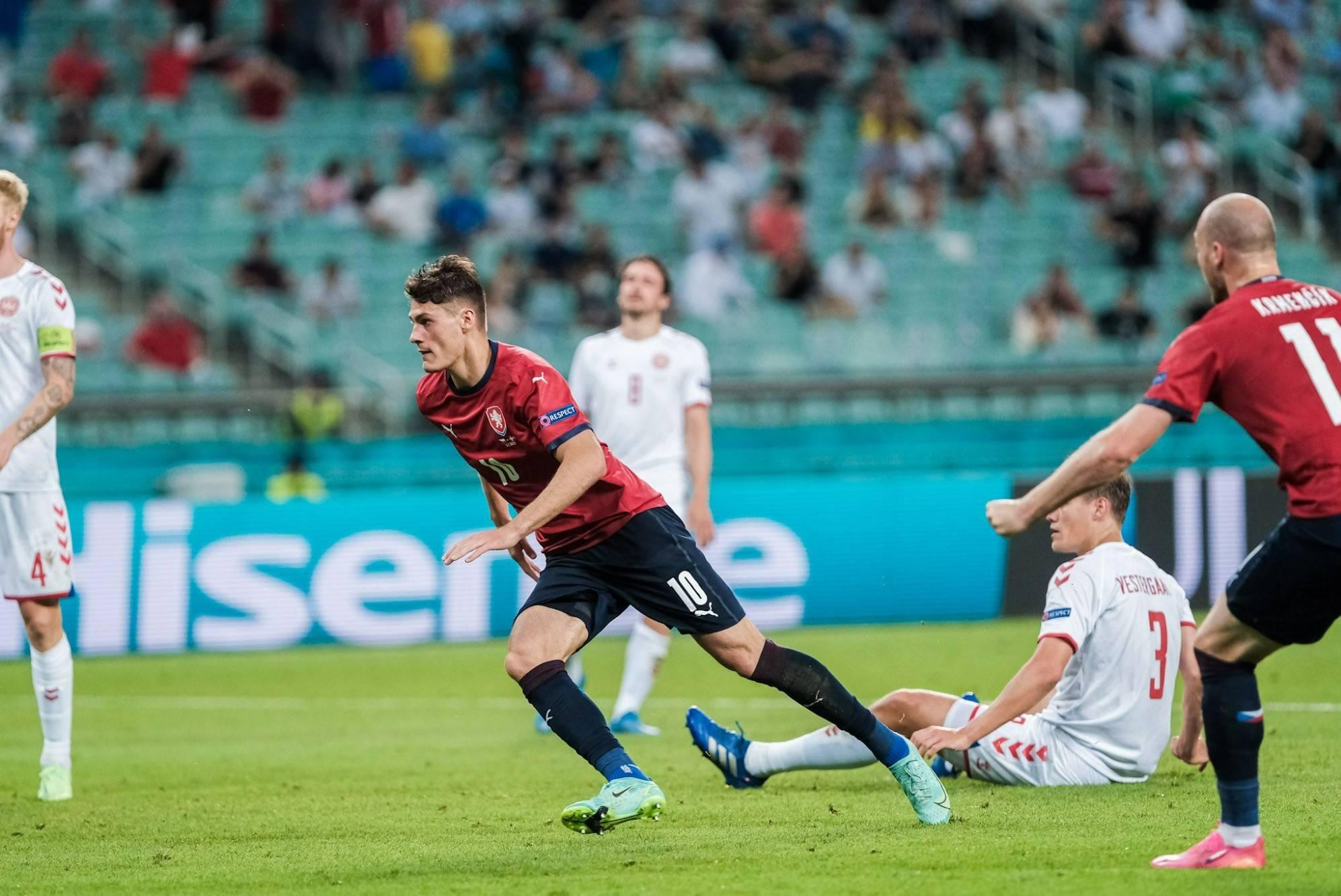 希克收获本届欧洲杯第5球,排在捷克国家队史第3