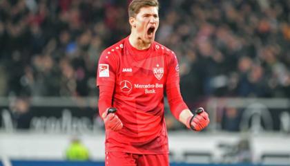 德甲转会:斯图加特签下霍芬海姆门将科贝尔