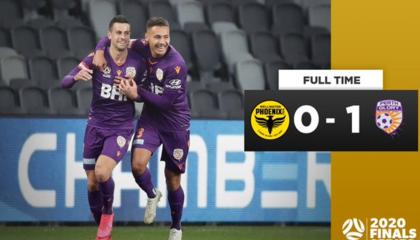 澳超战报:珀斯光荣1-0力克惠灵顿凤凰,半决赛将对阵悉尼FC
