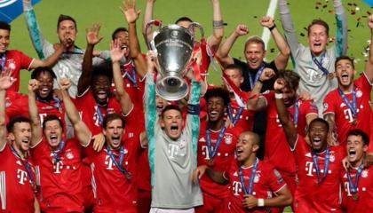 欧冠战报:拜仁慕尼黑1-0巴黎圣日尔曼赢得队史第六冠,科曼制胜球