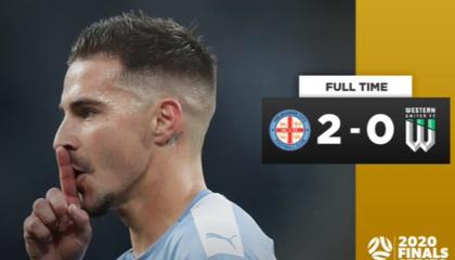 澳超战报:墨尔本城2-0西部联挺进决赛,麦克拉伦点射破门