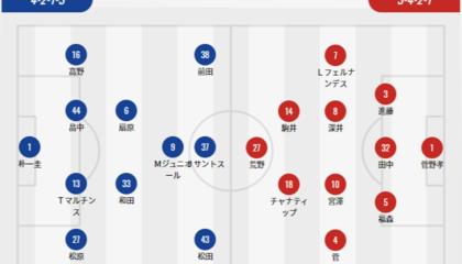 横滨水手VS札幌冈萨多首发:札幌无锋阵,水手19岁前锋出战