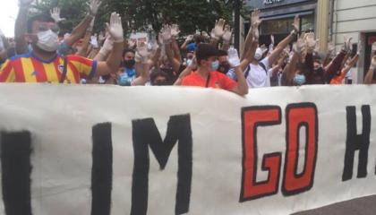 瓦伦西亚球迷接连组织抗议活动,要求林荣福下台