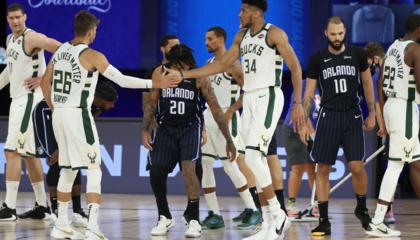 NBA战报:字母哥28+17 武切维奇22+15 密尔沃基雄鹿4-1晋级次轮