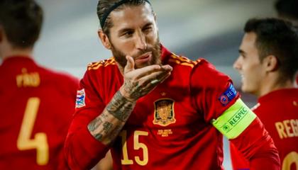 欧国联战报:拉莫斯双响,法蒂收获处子球,西班牙4-0乌克兰