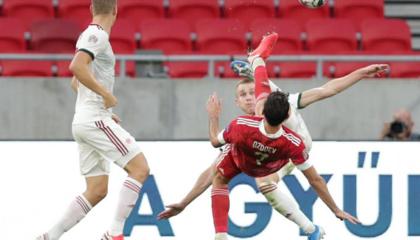 欧国联战报:俄罗斯3-2客胜匈牙利,两战全胜登上小组头名