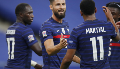 欧国联战报:法国4-2克罗地亚,格列兹曼传射,洛夫伦破门
