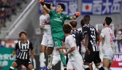 日职联战报:真红宝石战神卡!10人大阪樱花1-0神户胜利船
