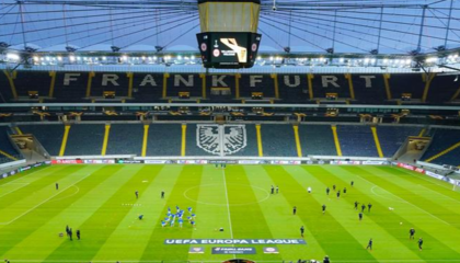 法兰克福主场揭幕战,当地卫生部批准部分球迷入场