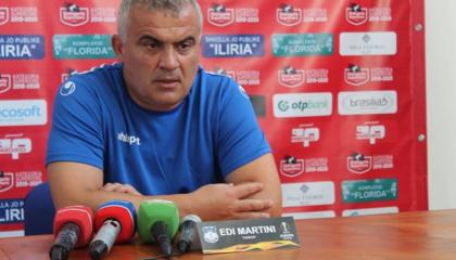 图塔杜雷斯主帅马蒂尼:托多洛夫斯基将不会出战,期待球员们战胜强敌