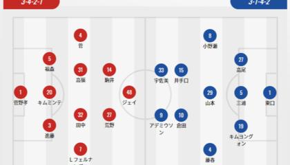 札幌冈萨多VS大阪钢巴首发:札幌中场宋克拉辛缺阵
