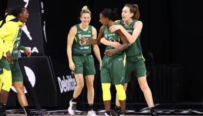 WNBA官方宣布:西雅图风暴与明尼苏达山猫的半决赛因新冠测试延期
