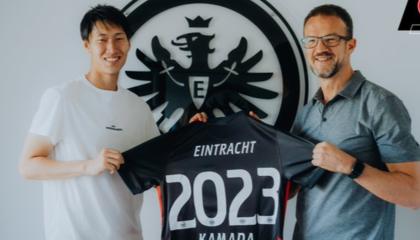 法兰克福官方:镰田大地与球队续约至2023年