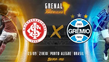 解放者杯前瞻:阿雷格里港德比来袭;巴西国际能否捍卫主场荣誉