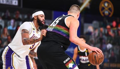 NBA战报:默里约基奇合砍50分 詹姆斯空砍三双 丹佛掘金扳回一城