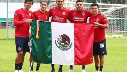 """""""全墨班""""瓜达拉哈拉5人入选墨西哥国家队,平均年龄21.8岁"""