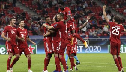 欧超杯战报:拜仁加冕四冠王,哈马加时制胜2-1塞维利亚