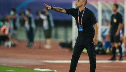 广州恒大主教练卡纳瓦罗:相信球队会百分百投入,用胜利为第一阶段画上句号