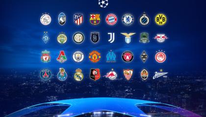 欧冠32强全部诞生,四队首次闯入正赛,今晚将进行小组赛抽签