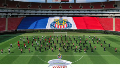 AKRON球场迎10周年纪念日,瓜达拉哈拉举办庆典