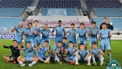 今年3场允许观众入场的比赛门票全部售罄,大邱FC展现了韩K人气球队的威风