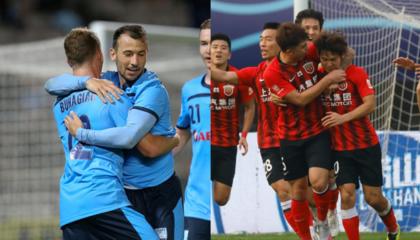 悉尼FCvs上海上港首发:穆伊、胡尔克领衔,奥斯卡因伤无缘本战