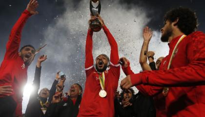 非冠杯决赛上演埃及内战,开罗阿赫利2-1绝杀扎马雷克夺冠