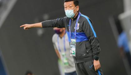 上海申花主帅崔康熙:球队出线形势严峻,后两场必须全力以赴