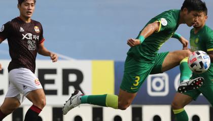 亚冠战报:北京国安3-1首尔FC,奥古斯托半凌空抽射破门