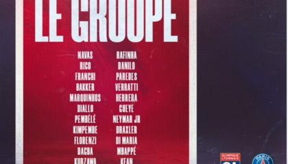 大巴黎VS里昂:内马尔、小基恩回归