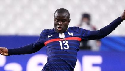 法国足协:坎特因伤退出国家队,不会递补招入新球员