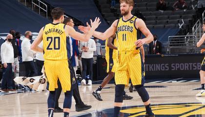 NBA战报:小萨16+13+15 勒维尔23分 步行者轻取76人跻身附加赛