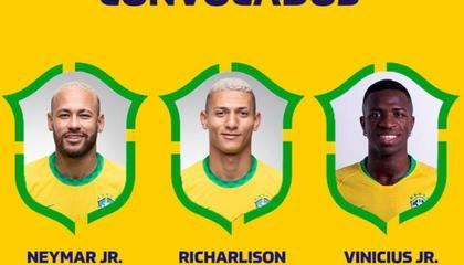 巴西新一期大名单出炉:内马尔、卡塞米罗领衔,阿尔维斯回归