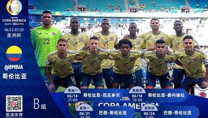 美洲杯哥伦比亚分析:能否在大赛中证明自己,重整南美强队雄风