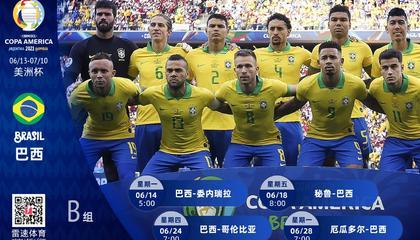 美洲杯巴西分析:卫冕冠军实力超群,能否一展强队风范
