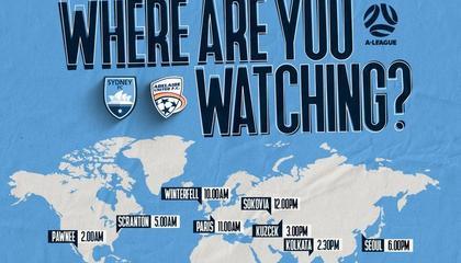 澳超:阿德莱德联VS悉尼FC