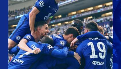切尔西1-0战胜曼城,拿下队史第二座欧冠奖杯