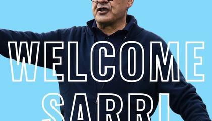 拉齐奥官方:萨里成为球队新任主教练