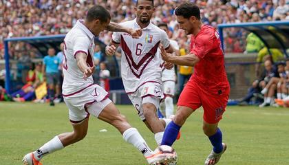 突发!委内瑞拉5名球员新冠检测呈阳性,2天后美洲杯首战巴西