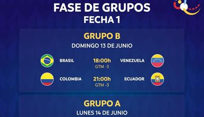 美洲杯前瞻:巴西VS委内瑞拉