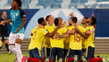 美洲杯战报:哥伦比亚1-0厄瓜多尔,卡尔多纳制胜球