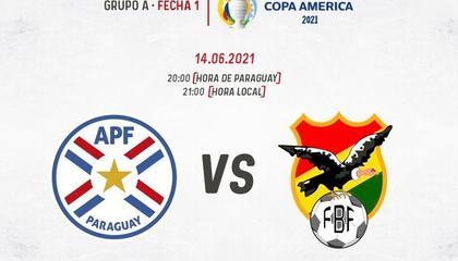 美洲杯前瞻:巴拉圭vs玻利维亚