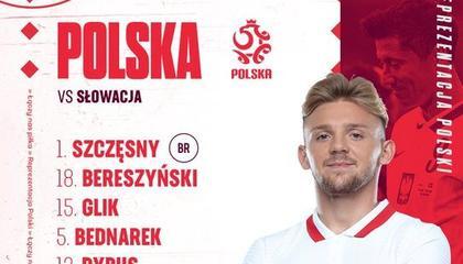 波兰vs斯洛伐克首发:莱万多夫斯基领衔出战